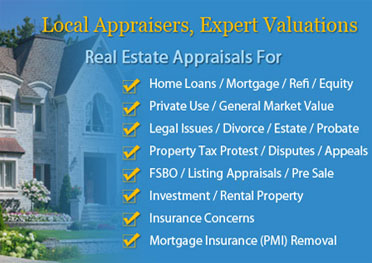 Houston home appraisals local appraisers 1 houston for What do home appraisers look for